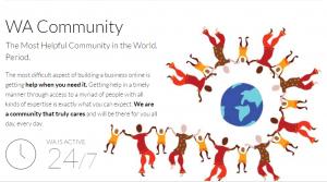 WA community people holding hands around the world