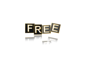 image of the word free