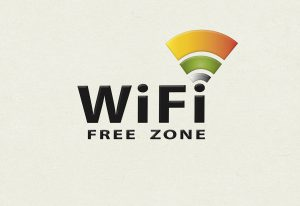 image with words wifi zone and wifi logo