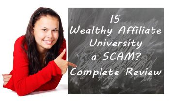 Is Wealthy Affiliate University A Scam Written On Blackboard