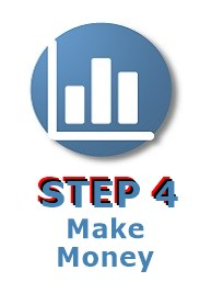 image with words step 4 make money