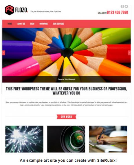 How To Sell Art Online SiteRubix Art Theme