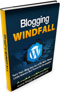 Blogging Windfall