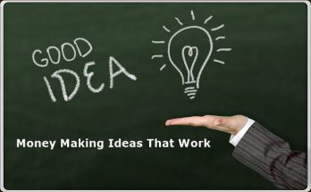 Money Making Ideas That Work