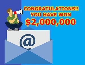 Lottery Winning Email