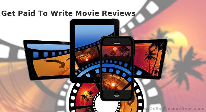 Paid to write movie reviews
