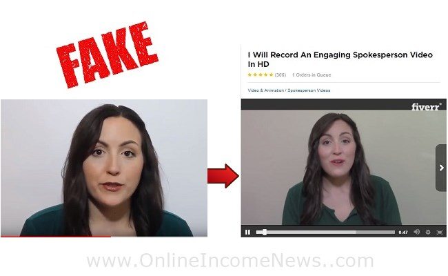 fake testimonial
