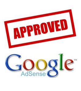 google adsense approved
