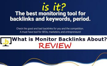What Is Monitor Backlinks About