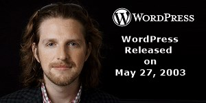 WordPress Release Date
