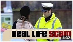 Real Life Scams - Car Park