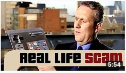 Real Life Scams - Cash Machine