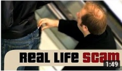 Real Life Scams - Pinch Push Pocket