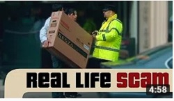 Real Life Scams - Stealing A TV