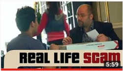 Real Life Scams - The Double Switch