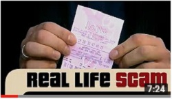 Real Life Scams - The Lottery