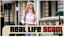 Real Life Scams - Window Tap