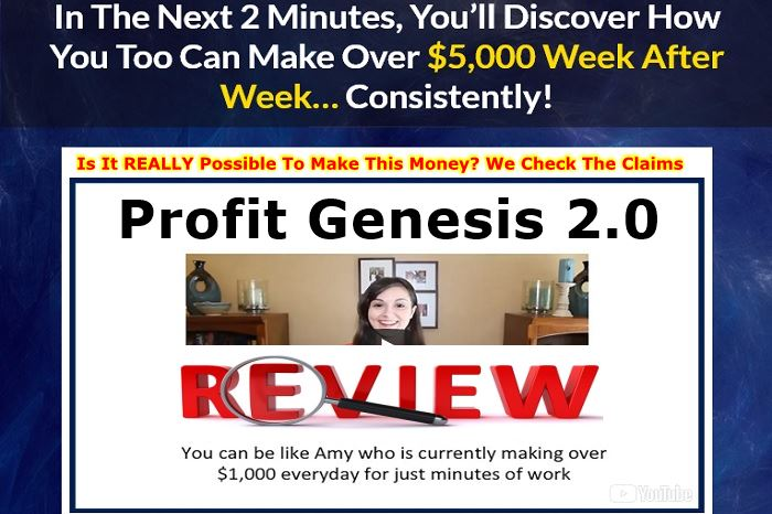 Profit Genesis 2 0 Review Shocking Truth Online