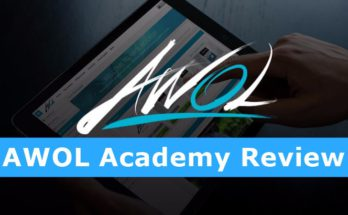 Screenshot of AWOL Academy Site Review