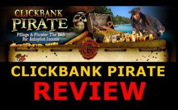 Screenshot of Clickbank Pirate site