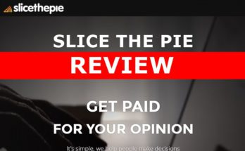 Screenshot of Slice The Pie Website