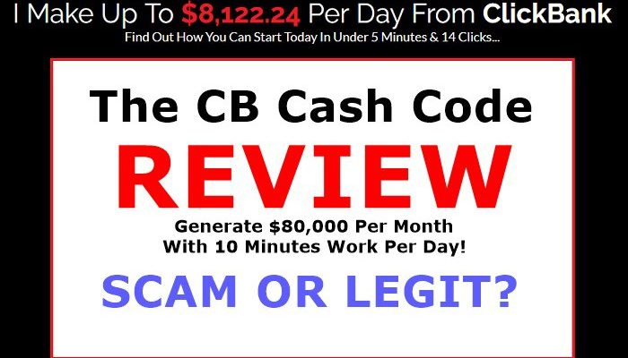 The CB Cash Code Review