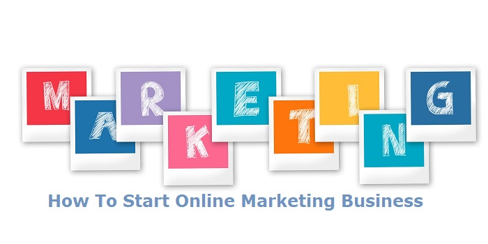 Marketing - how to start online marketing business