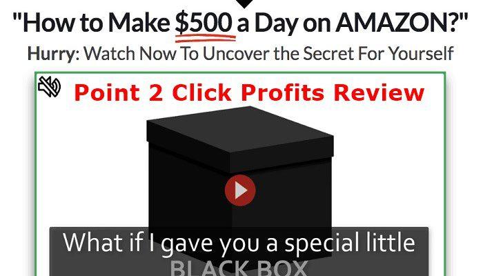 Point 2 Click Profits Website Screenshot